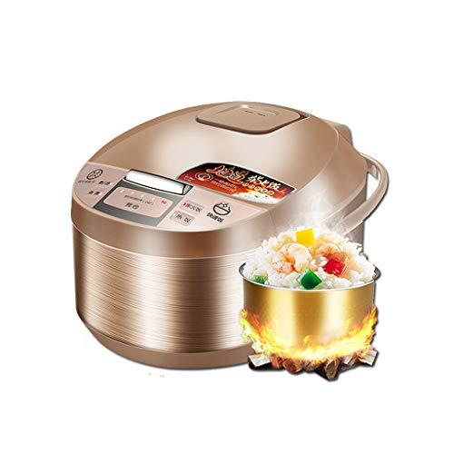 Cuiseur À Riz, 10 Heures Rendez-vous, Ménage 5L-860W Cuisinière Intelligente De Riz Multi-fonctions, Avec Vapeur, For 4-8 Personnes