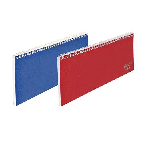 Schreibtischkalender Colour 1W/2S, farbig sortiert 2020