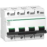 Schneider Electric A9N18391 Interruptor Automático Magnetotérmico C120N, 4P, 80A, curva D