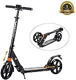 Windwalker Big Wheel Scooter 200 mm Trottinette City Scooter Hauteur Réglable en aluminium Pliable Kick Scooter pour...