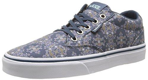 Vans W Winston Geo Flowers, Damen Sneakers, Grün (geo Flowers/Orion Blue), 37 EU