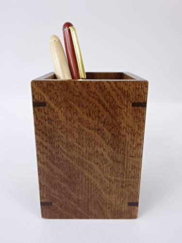 北海道手作り小物 ナラ(楢)材S ペン立て 木製 ペンスタンド ぺんたて