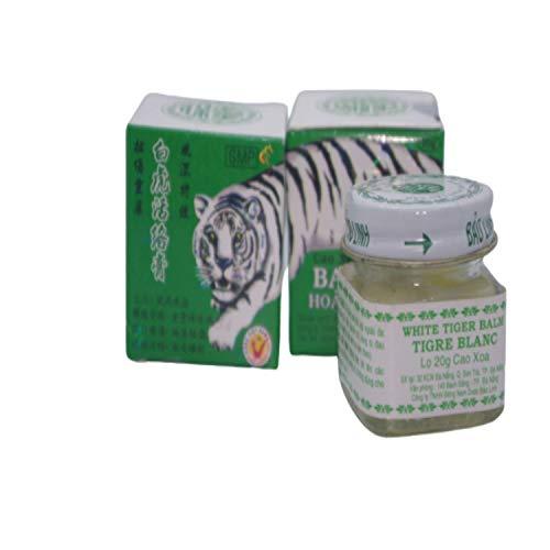 [ATLANTEE]Baume Du Tigre Blanc+Baume Du Tigre Blanc Chauffant [OFFERT](Menthol, Du Camphre), Baume Bio de Médecine Chinoise, Anti-Douleurs: Les Douleurs Musculaires et Courbatures, Anti-inflammatoire