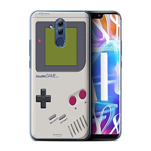 Stuff4 Coque pour Huawei Mate 20 Lite Console (Jeux vidéo) Game Boy Désign Transparent Etui Housse Case Rigide Ultra Mince
