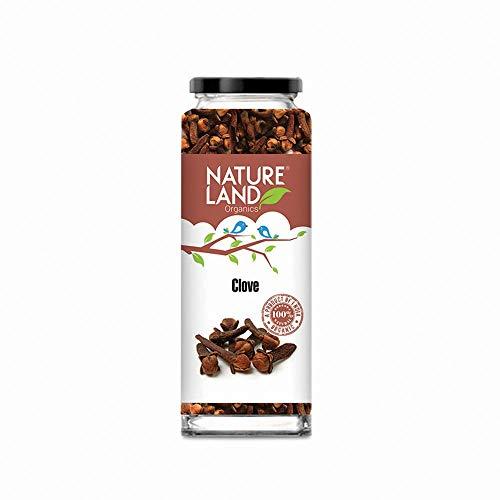 Natureland Organics Clove / Laung 75 Gm - Organic Healthy Spices