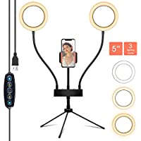 Matacru Selfie Ring Light with Tripod Stand & Cell Phone Holder