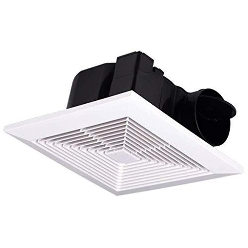 LANDUA Ventilación de Ruido del Ventilador de Cristal de Ventana de ventilación de Tipo Extractor silenciosa y Potente de baño Cocina Velocidad Nominal
