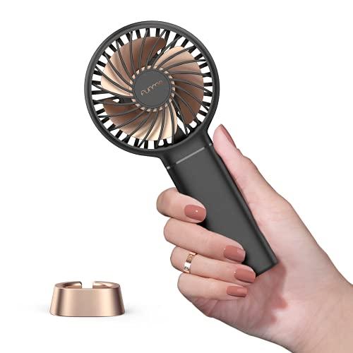 Ventilador Mano FUNME Mini Ventilador Portátil Recargable 3350mAH Garantía de Por Vida...