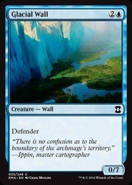 Magic The Gathering - Glacial Wall (053/249) - Eternal Masters