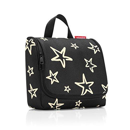 Reisenthel Toiletbag Stars, Schwarz, 23 x 20 x 10 cm