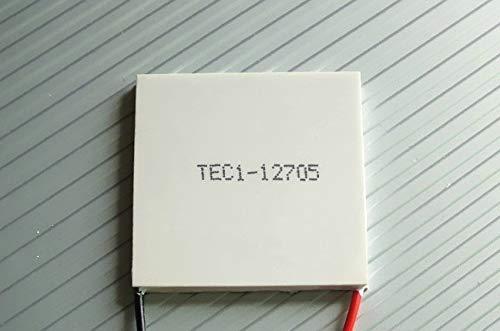CROSYO Módulo de enfriamiento del Enfriador termoeléctrico Peltier TEC1-12705 12V 60W