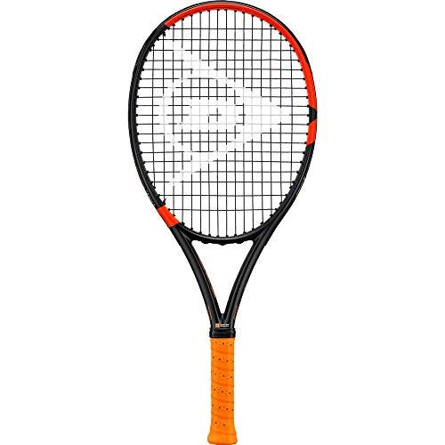 Dunlop D TR Nt R5.0 Pro Junior 25 G0 Nh Raqueta de Tenis, Negro y Naranja, 0