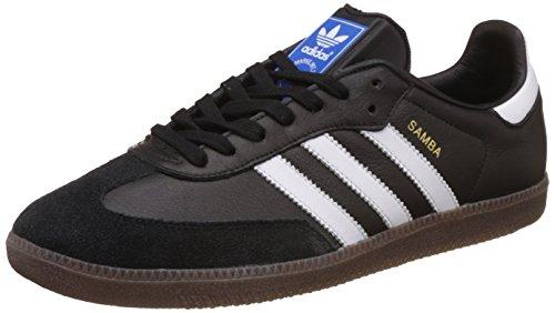 adidas Herren Samba OG Niedrig, Schwarz (Core Black/Footwear White/Gum), 38 2/3 EU