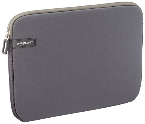 Amazon Basics NC1506163H - Funda para ordenadores portátiles (11.6'), color gris