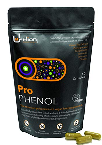 Pro Phenol - New Name, Same Great Product! The Leading Polyphenol Supplement | 6 Natural Ingredients | 60 Vegan Capsules!