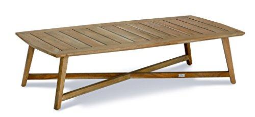 Best Paterna 140x70 cm Couch-Tisch, teakholz, 70 x 140 x 42 cm