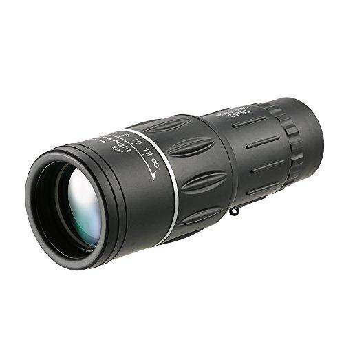 Lixada Télescope Monoculaire à Double Focale Ultra Puissant Ordinateur de Poche Portable Extérieur Ultra HD Monoculaire pour la Chasse Camping Observation des Oiseaux