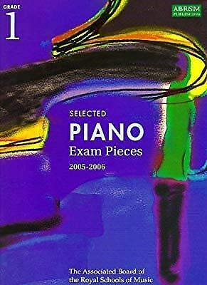 Piano Exam Pieces 1999-2000, Grade 1