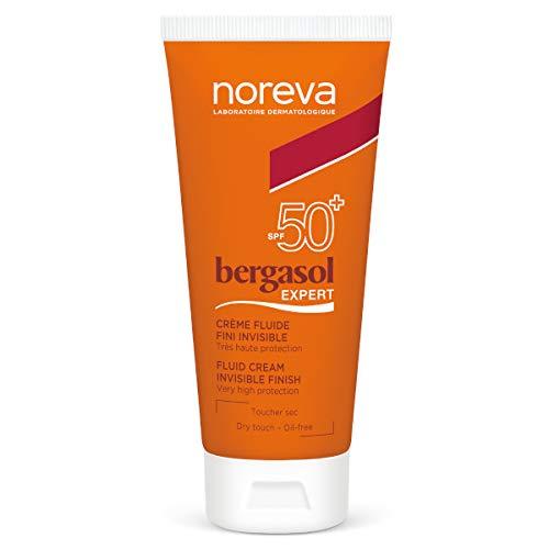 Noreva Bergasol Expert Crème Fluide Fini Invisible SPF 50+ 50 ml
