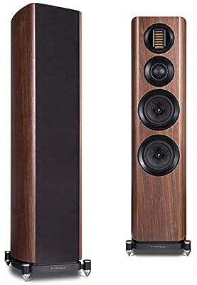 Wharfedale Evo 4.4 Walnut Floorstanding Speakers (Renewed) by Wharfdale