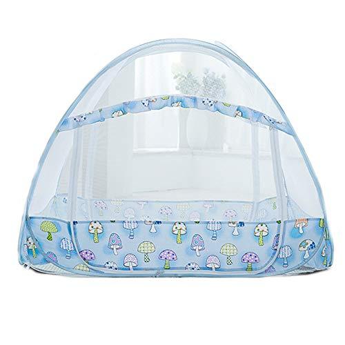 TFACR - Mosquitera para cuna plegable con soporte para jardín de infantes, 105 x 60 x 80