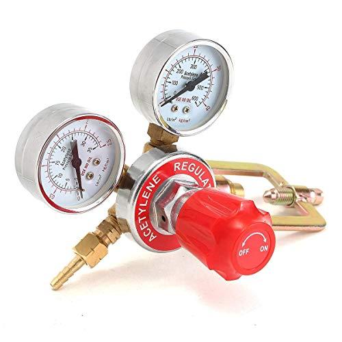 BJLWTQ Regulador de la válvula de control de flujo para la soldadura del indicador reductor de presión de acetileno