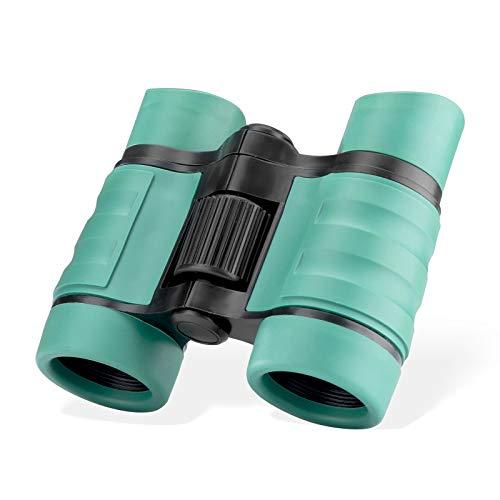 Binoculars for Kids 4x30 Kids Binoculars Compact Shockproof Binosulars for 3-12 Years Boys and Girls Toy Binoculars for Bird Watching Hunting Camping