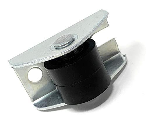 Design61 4x Kastenbockrolle Bettkastenrolle Möbelrolle Möbelrollen 15x11 mm mit Kunststoff Räder