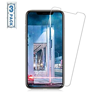 JchanMing Tempered Glass Screen Protectors Compatible with iPhone XS Max iPhone 11 Pro Max [No Bubbles] [9H Hardness]For iPhone XS Max iPhone 11 Pro Max Screen Protectors [6.5 Inch][3Pack]