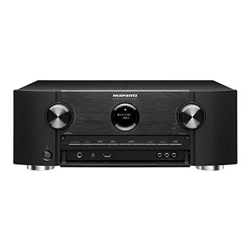 Marantz SR6015 9.2-Kanal AV-Verstärker, Hifi Verstärker, Alexa kompatibel, 7 HDMI Eingänge und 3 Ausgänge, 8K Video, WLAN, Musikstreaming, Dolby Atmos, AirPlay 2, HEOS Multiroom