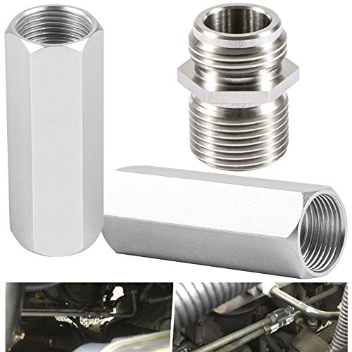 68RFE Transmission Spin on Filter Screw Coupler & Transmission Cooler Thermostatic Bypass Stainless Steel Upgrade, Compatible with Dodge Ram 2500 3500 6.7L Cummins Diesel Engines