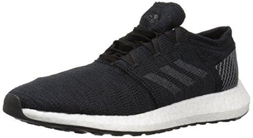 adidas Men's Pureboost GO Running Shoe, Black/Grey/Grey, 9 M US