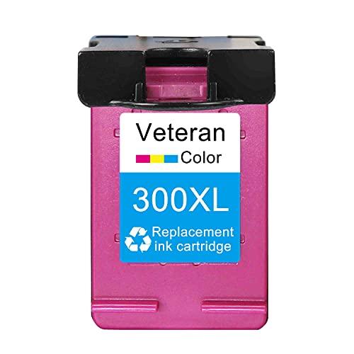 ZITENG CGBH Cartucho de Tinta 300XL para HP 300 XL HP300 DeskJet D1660 D2500 D2560 D2660 D5560 F2420 F2480 F2492 Impresora (Color : 300XL Color)
