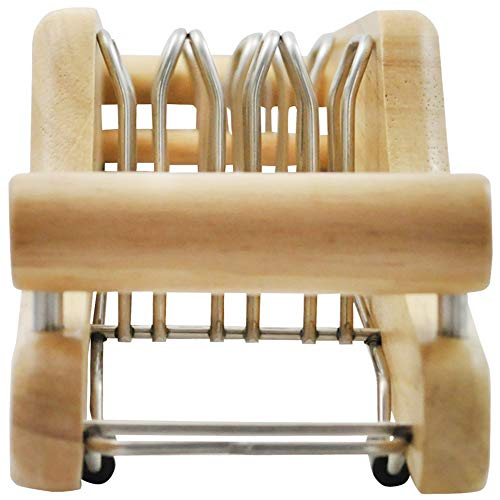 貝印『MYFAVORITE木製包丁スタンド(3本用)』