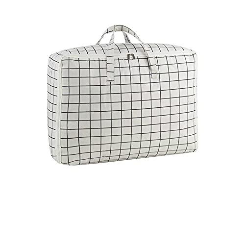 Bolsa de edredón de algodón, a prueba de polvo de cáñamo de algodón y a prueba de humedad, bolsa de bolsa, bolsa de ropa, bolso,