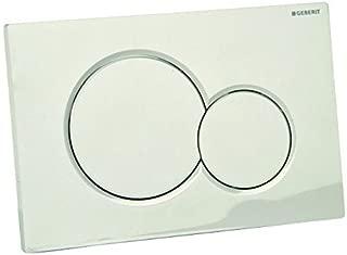 Geberit 115.770.46.5 Dual-Flush Actuator Plate, Matte Chrome