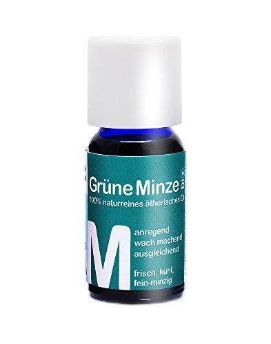 Agilpharma Grüne Minze (Spearmint oder Krauseminze) bio Duft-Öl · 100% naturreines ätherisches Öl, 10 ml