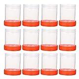 EXCEART 50 Piezas de Tazas de Muestras de Orina Tapa Enroscable para Prueba de Ovulación/Prueba de Embarazo/Prueba de Ph Uso en Laboratorio (Color Aleatorio)