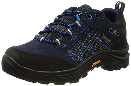 CMP Kids Shoe, Scarpe da Trekking Thiamat Low 2.0 WP Unisex-Bambini, Black Blue, 36 EU
