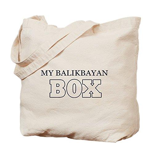 CafePress My Balikbayan Box Natural Canvas Tote Bag, Reusable Shopping Bag