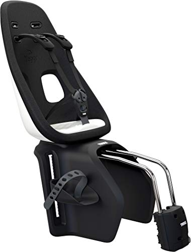 Thule Yepp Nexxt Maxi Frame Mounted fiets kinderzitje Snow White tot 22 kg