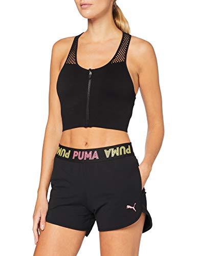 PUMA Modern Sports Banded 3` Shorts Pantalones Cortos, Mujer