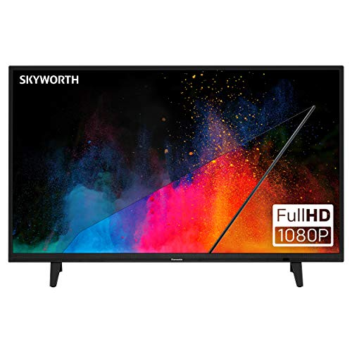 Skyworth E-Series 1080P 40' Inch LED TV 60 Hz DTS Dolby Audio Sound 40E2