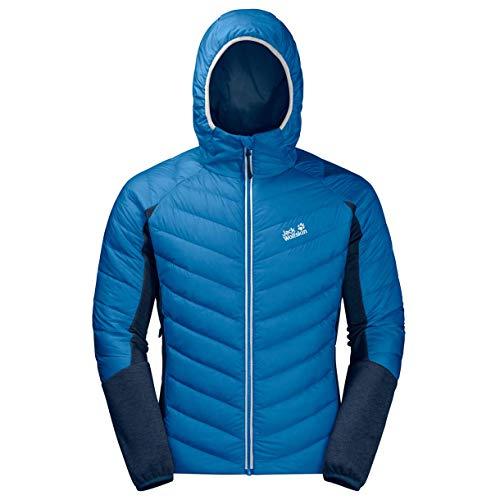 Jack Wolfskin M Stratosphere Jacket Blau, Herren Daunen Isolationsjacke, Größe XXL - Farbe Electric Blue
