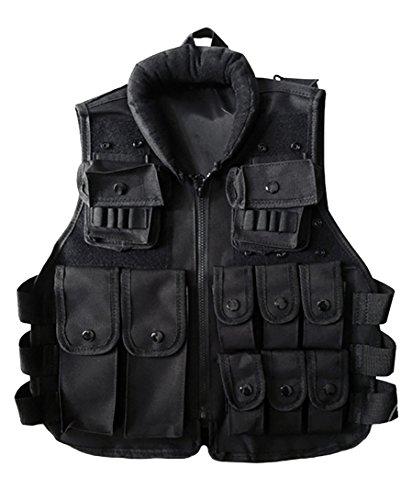 ThreeH Draussen Paintball Kleidungsstück Ausrüstung Taktische Weste Ausrüstung Ärmellose Kleidung für Kinder SA02