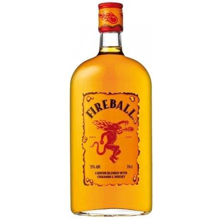 Fireball Cinnamon Whisky Likör 0,5 Liter 33%