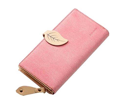 Élégant femmes roses panier Porte-monnaie Sac à main avec boucle
