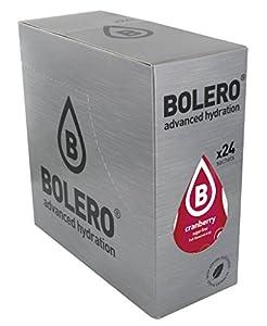 Bolero Bebida Instantánea Sin Azúcar, Sabor Arandanos - Paquete de 24 x 9 gramos - Total 216 gramos