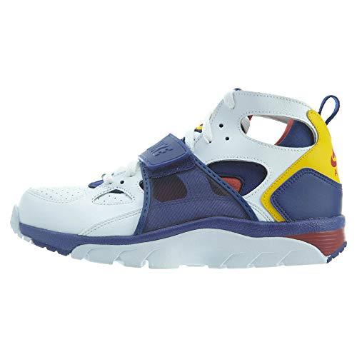 Nike Men's Gymnastics Shoes, Multicolour, White/Regnncy Purple-amarillo, 11