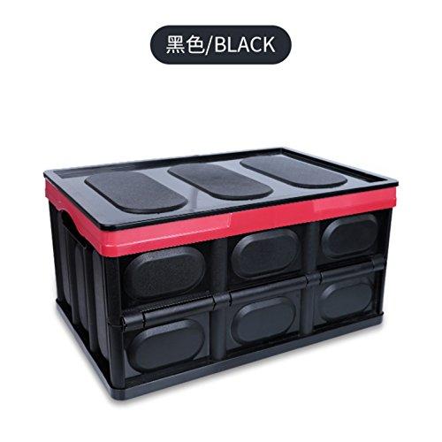 ZGBZZ Boîte de Rangement de Voiture, boîte de Rangement de Coffre, boîte de Rangement Pliante, boîte de Rangement en Plastique multifonctionnelle de Voiture, Fournitures de Voiture